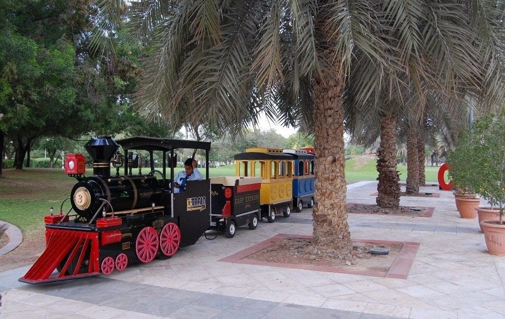 Train Ride in Dubai Creek Park
