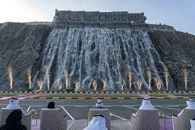 khorfakkan waterfall